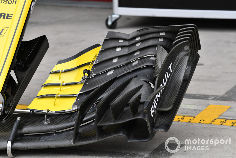 Renault Spoirts F1  R.S. 18 Front wing Detail