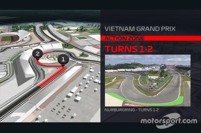 Streckenlayout: Hanoi