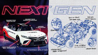 Präsentation: NASCAR Gen7 ab 2022