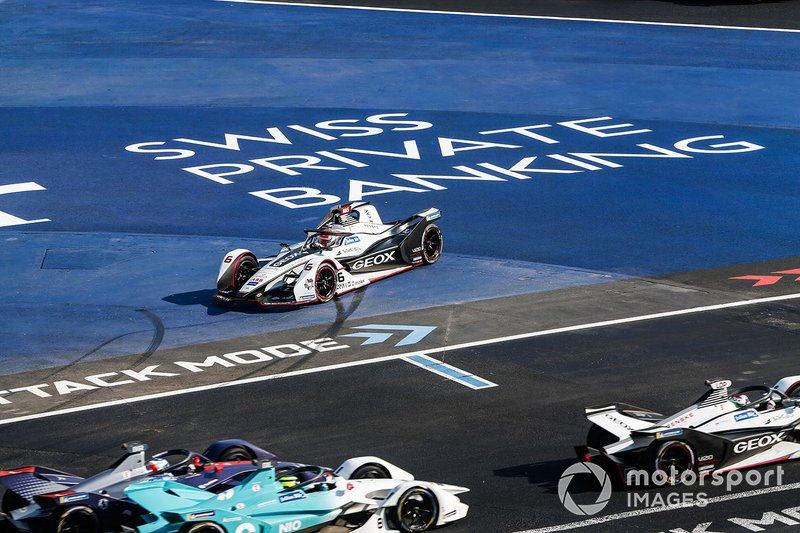 Felipe Nasr, Dragon Racing, Penske EV-3 trompea