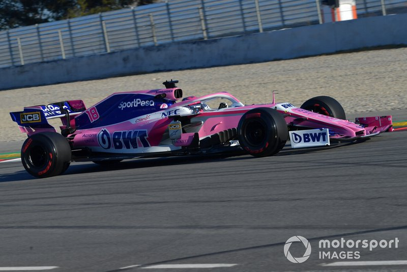 14º Lance Stroll, Racing Point F1 Team RP19, 1:17.556 (gomme C5, giorno 7)