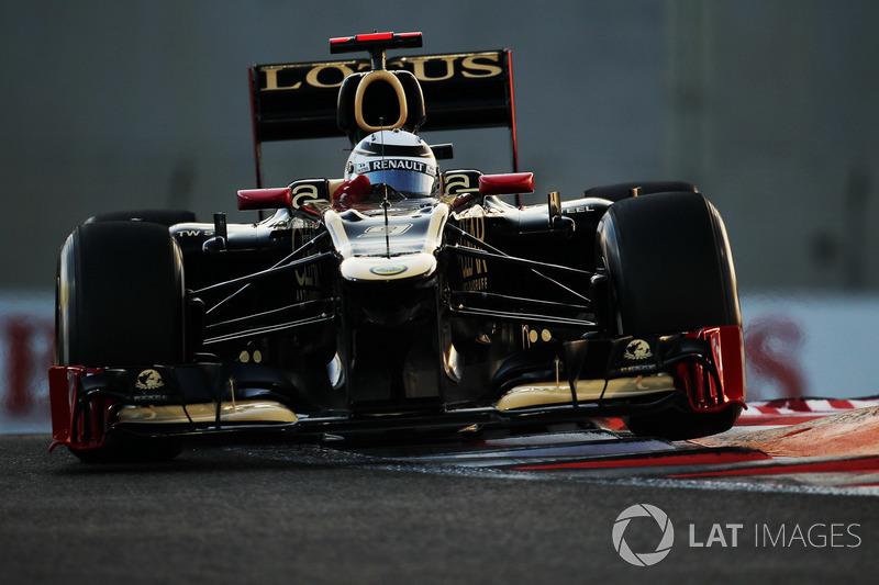 2012: Гран При Абу-Даби, Lotus E20. Стартовал 4-м