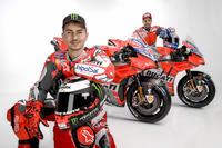 Jorge Lorenzo und Andrea Dovizioso, Ducati Team