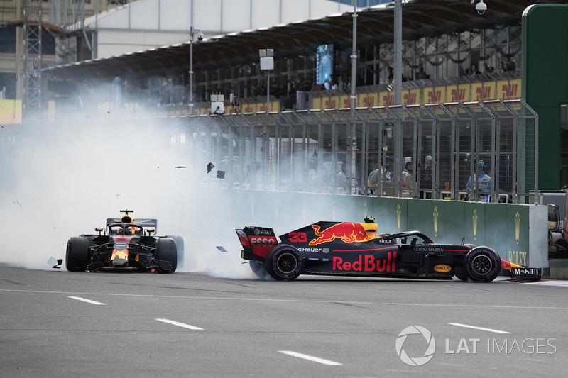 Azerbaiyán - Max Verstappen/Daniel Ricciardo (carrera)