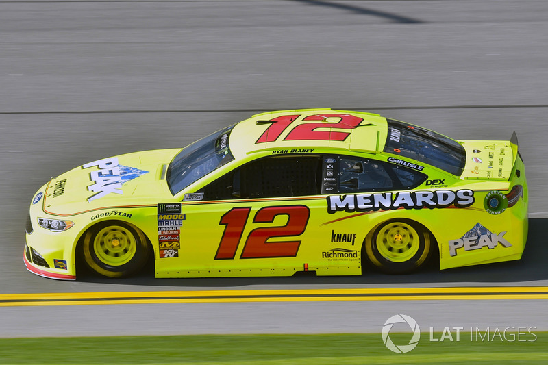3. Ryan Blaney, No. 12 Team Penske Ford Fusion