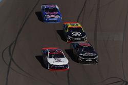 William Byron, JR Motorsports Chevrolet, Christopher Bell, Joe Gibbs Racing Toyota, Matt Tifft, Joe Gibbs Racing Toyota, Kyle Larson, Chip Ganassi Racing Chevrolet