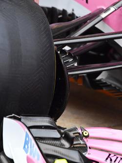 Sahara Force India VJM11 front suspension detail