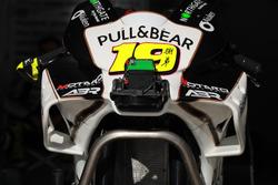 Le carénage de la moto d'Alvaro Bautista, Angel Nieto Team