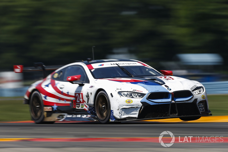 #24 BMW Team RLL BMW M8, GTLM: John Edwards, Jesse Krohn, Tom Blomqvist