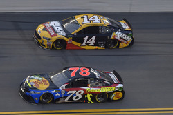 Martin Truex Jr., Furniture Row Racing, Toyota Camry Bass Pro Shops/5-hour ENERGY, Clint Bowyer, Stewart-Haas Racing, Chevrolet Camaro Haas 30 Years of the VF1