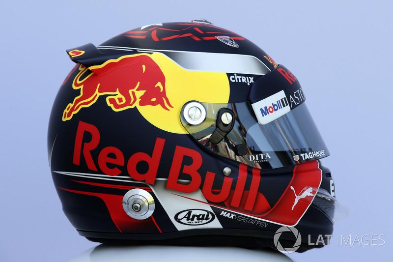 Max Verstappen, Red Bull Racing helmet