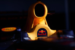 Red Bull Racing car cockpit detail