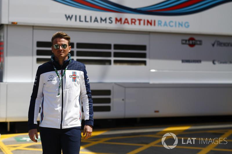Oliver Rowland, Williams Martini Racing