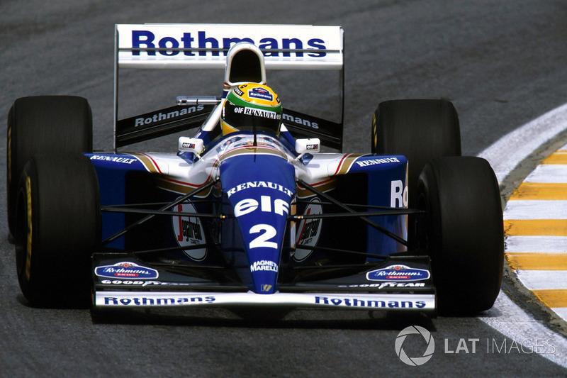 10. El Williams FW16 de Fórmula 1