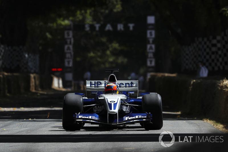 Williams BMW FW26, Karun Chandhok