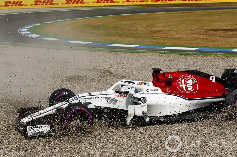 13: Marcus Ericsson, Sauber C37, 1'13.736
