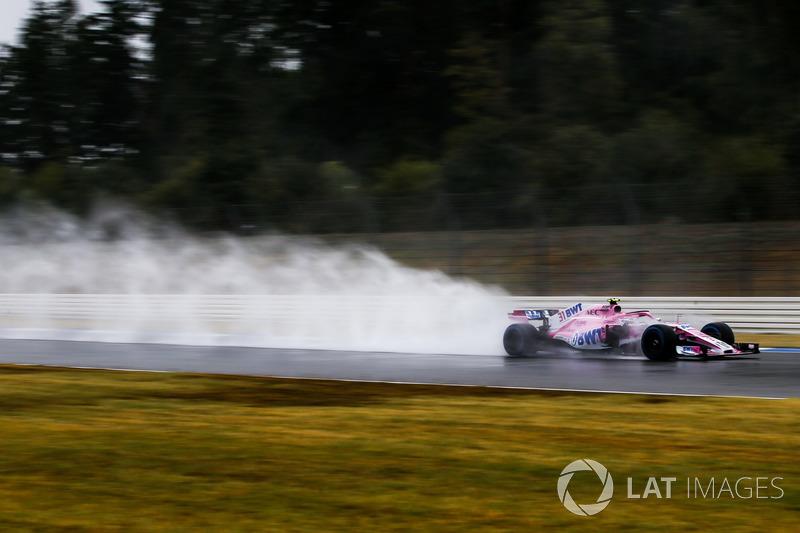 Естебан Окон, Force India