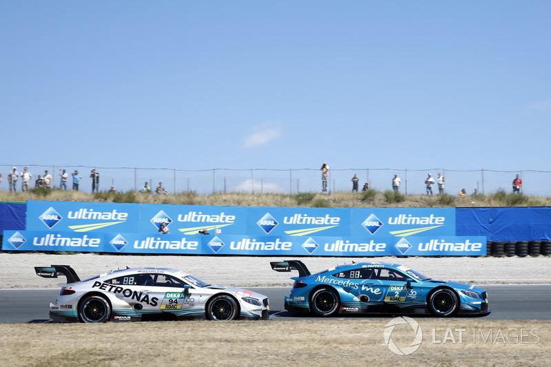 Паскаль Верляйн, Mercedes-AMG Team HWA, Mercedes-AMG C63 DTM, Гері Паффетт, Mercedes-AMG Team HWA, Mercedes-AMG C63 DTM