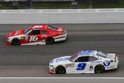 William Byron, JR Motorsports Chevrolet, Ryan Reed, Roush Fenway Racing Ford