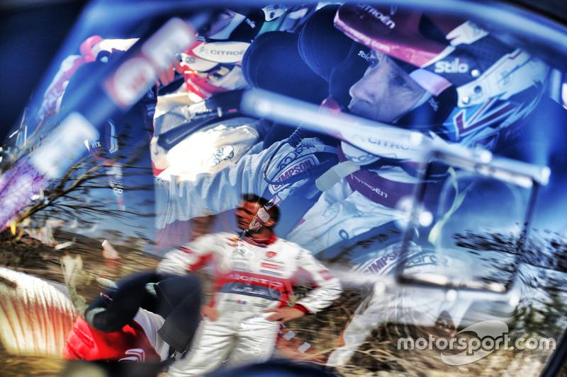 Kris Meeke, Citroën World Rally Team, Sébastien Loeb, Citroën World Rally Team
