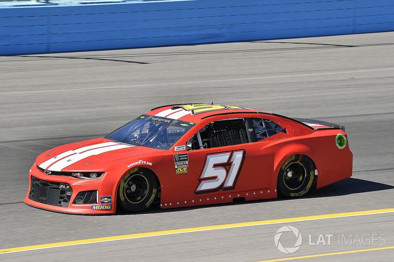 35. Timmy Hill, No. 51 Rick Ware Racing Chevrolet Camaro