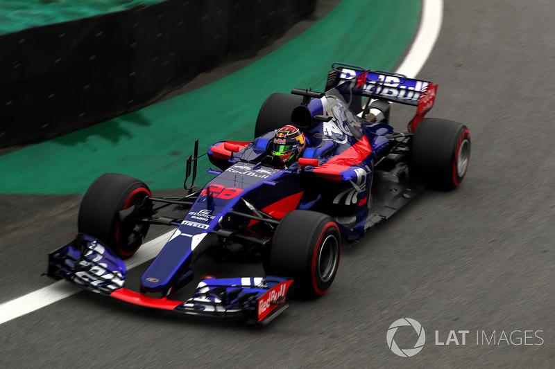 Brendon Hartley, Scuderia Toro Rosso STR12 (2 abandonos en 4 carreras)