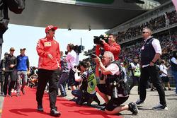Kimi Raikkonen, Ferrari nella drivers parade