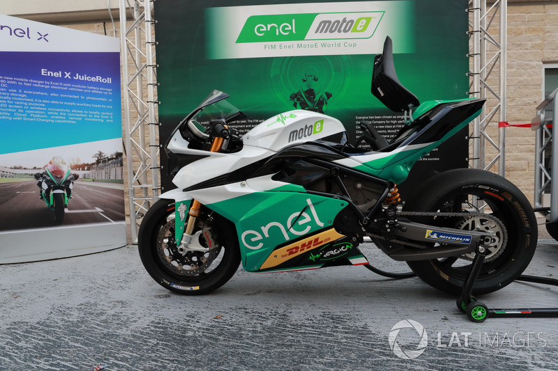 Penampilan motor FIM Enel MotoE