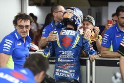 Third place Alex Rins, Team Suzuki MotoGP, Rodrigo