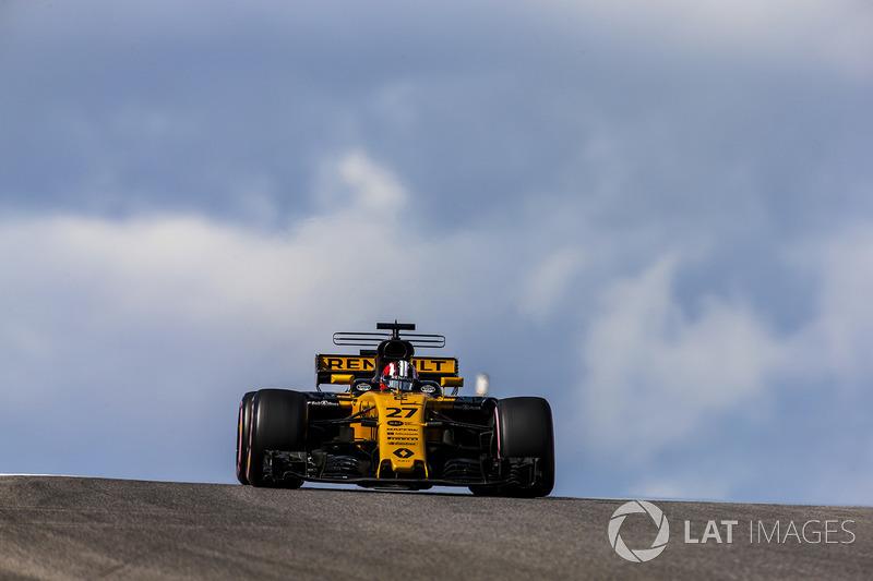 Nico Hulkenberg, Renault Sport F1 Team RS17 (P)