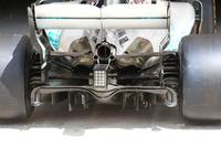 Mercedes AMG F1, diffusore