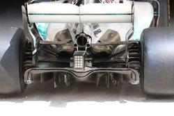 Mercedes AMG F1 diffuser