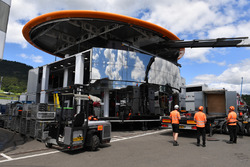 McLaren motorhome construction