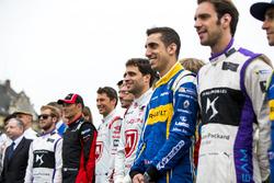 Formula E, piloti in gruppo