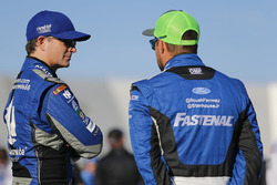 Jeff Gordon, Hendrick Motorsports Chevrolet, Ricky Stenhouse Jr., Roush Fenway Racing Ford