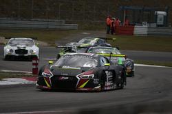 #3 Belgian Audi Club Team WRT Audi R8 LMS GT3: Sergio Jimenez, Rodrigo Baptista