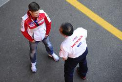 Кейси Стоунер, Ducati Team, Шухей Накамото, вице-президент Honda Racing Corporation