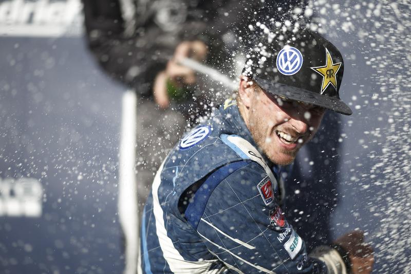 First place Scott Speed, Volkswagen