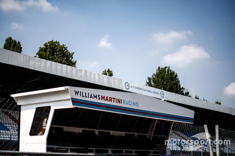 Williams pit duvarı