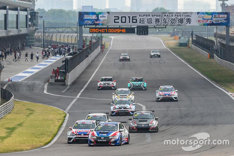 TCR Asia Series, via di Gara 1