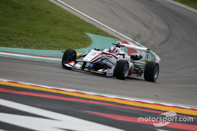 Wing Chung Chan, ThreeBond with T-Sport Dallara F312, NBE