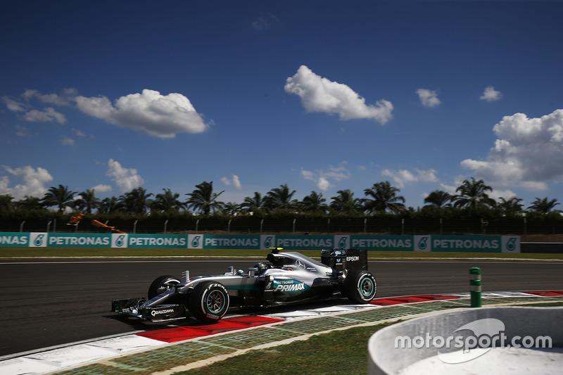 2: Ніко Росберг, Mercedes AMG F1 W07 Hybrid