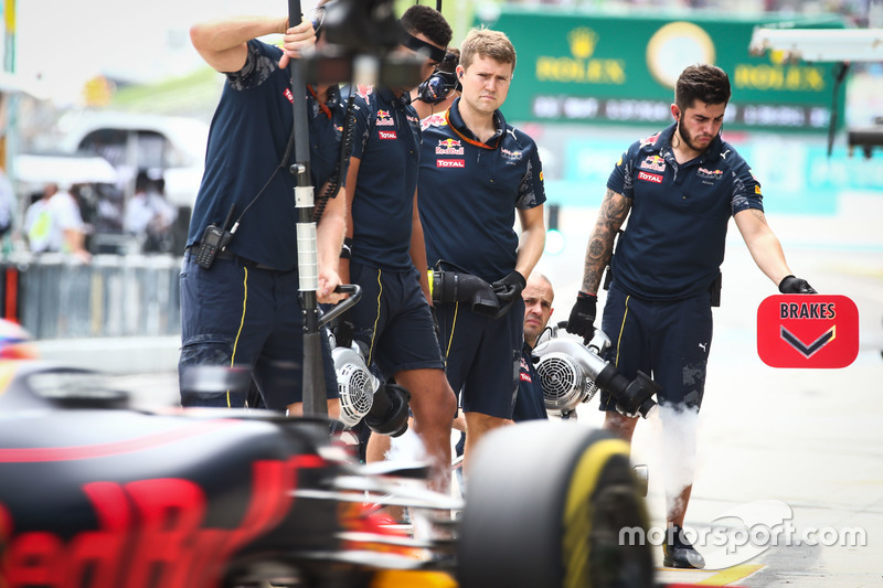 Mechaniker: Red Bull Racing