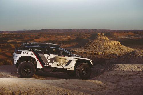 Peugeot Test in Marokko