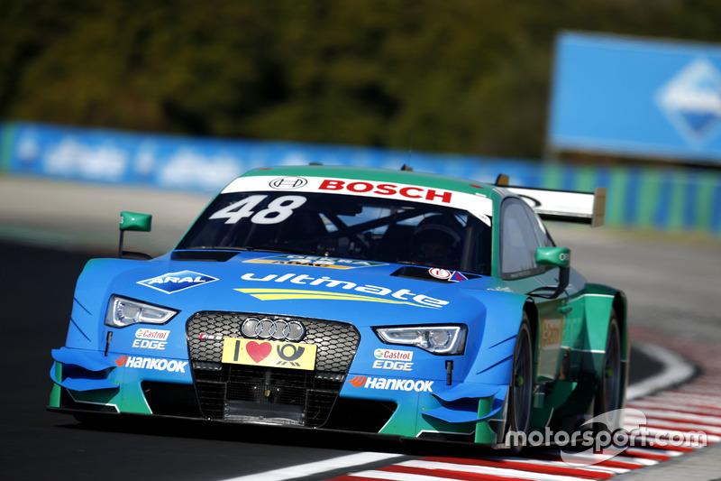 ... Audi-Speerspitze Edoardo Mortara und ...