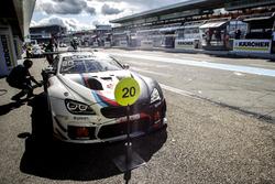 Boxenstopp #20 Schubert Motorsport, BMW M6 GT3: Jesse Krohn, Martin Tomczyk