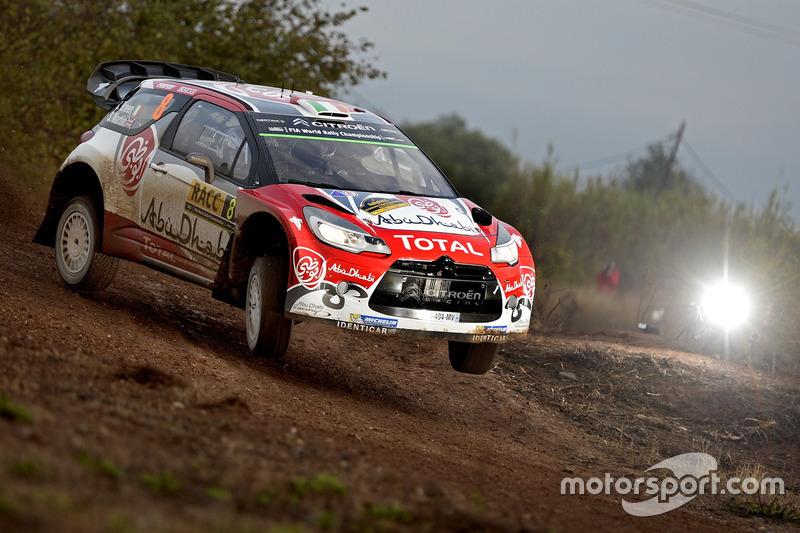 Craig Breen, Scott Martin, Citroën DS3 WRC, Abu Dhabi Total World Rally Team