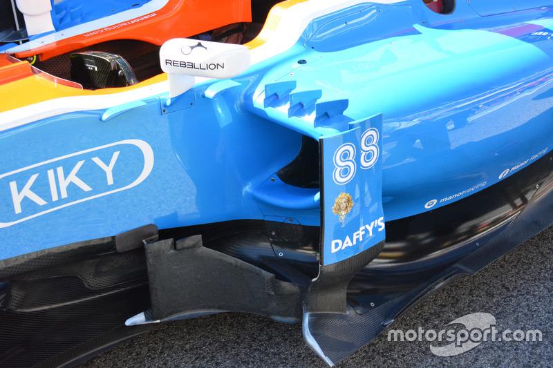 Manor Racing MRT05, dettaglio