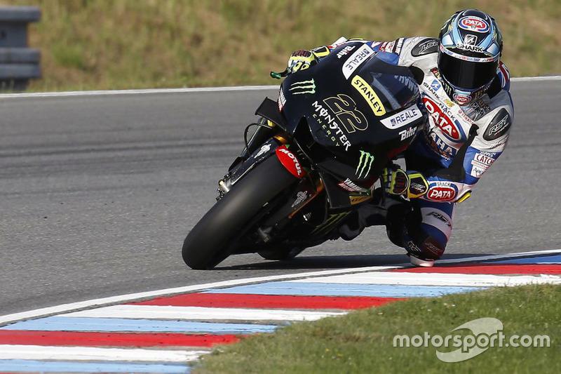 Alex Lowes, test su Yamaha YZR-M1 del team Monster Yamaha Tech3