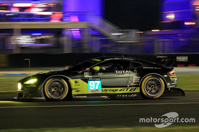 38: #97 Aston Martin Racing Aston Martin Vantage: Richie Stanaway, Fernando Rees, Jonathan Adam